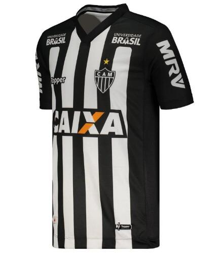Atlético Mineiro Soccer Jerseys 2018-19 Away Football Shirts